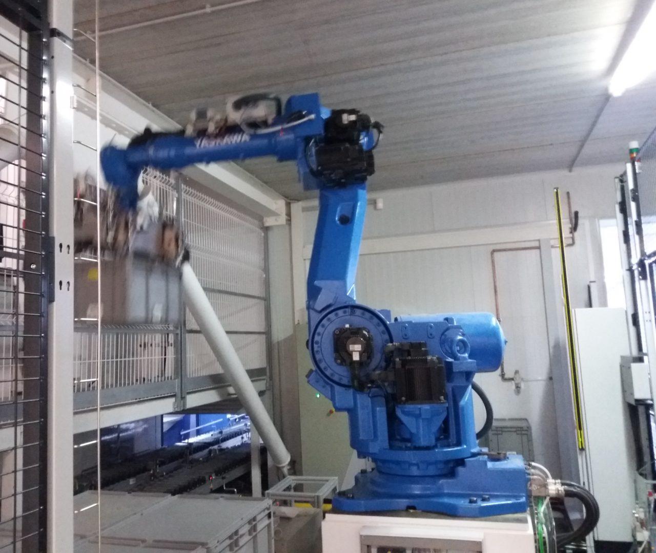 Robot, cel·la robotitzada, ISO 10218,